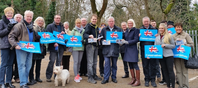 cannock chase conservative team